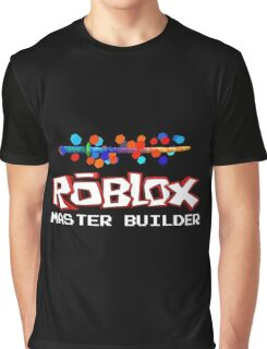Roblox Master Builder Design Graphic T-Shirt