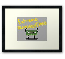 Extreme Ramifications Framed Print