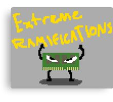 Extreme Ramifications Canvas Print