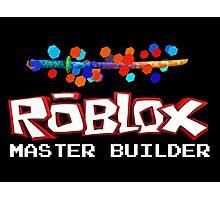 Roblox Master Builder Design Photographic Print