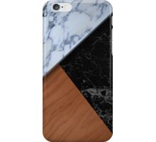 Wood&Marble iPhone Case/Skin
