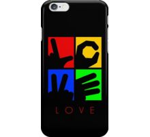 Love Hand Sign iPhone Case/Skin