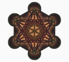 Metatron's Cube ~ Sacred Geometry Kids Clothes