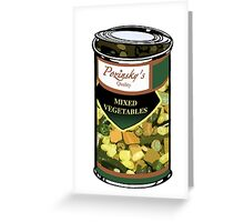 Pozinsky's Vegetables (Mixed)  Greeting Card