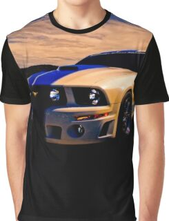 Mustang GT 500 Ready for Mustangs Across America Drive Graphic T-Shirt