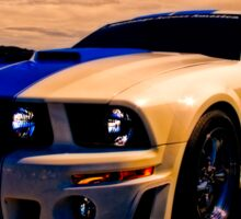 Mustang GT 500 Ready for Mustangs Across America Drive Sticker