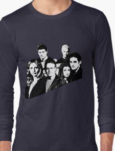 A BTVS motif Long Sleeve T-Shirt