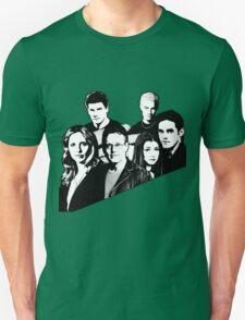 A BTVS motif Unisex T-Shirt