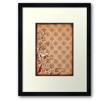 Fur & Feathers: Red Cat Framed Print