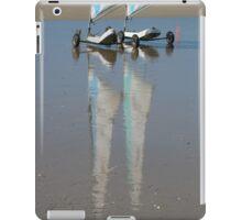 Reflets sur le sable mouillé iPad Case/Skin