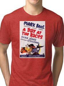 The Marx Brothers - A Day at the Races Tri-blend T-Shirt