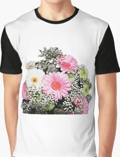 Bunch of Colourful Flowers Graphic T-Shirt
