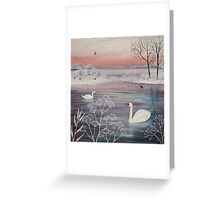 Winter Serenity Greeting Card