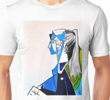 Sylvette - Tribute to Pablo Picasso Unisex T-Shirt
