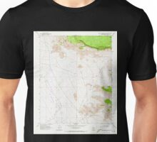 USGS TOPO Map Arizona AZ Music Mountains NW 312565 1968 24000 Unisex T-Shirt