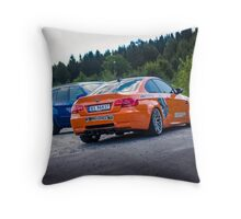 BMW E92 M3 & BMW X5M from the movie Børning Throw Pillow