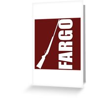 Fargo Shotgun Greeting Card