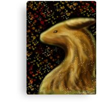Fall Dragon Canvas Print
