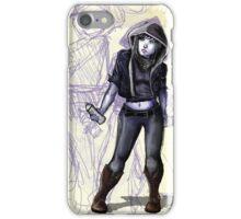Female Graffiti Artist iPhone Case/Skin