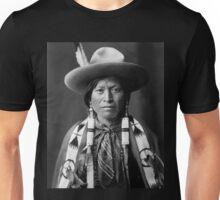 Jicarilla Apache Cowboy by Edward S. Curtis Unisex T-Shirt