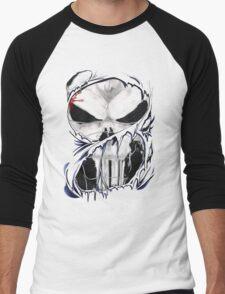 torn skull tee Men's Baseball ¾ T-Shirt