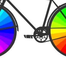 Bike City Concept Illustration Sticker