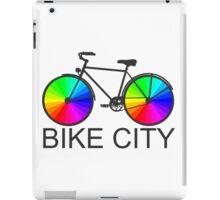 Bike City Concept Illustration iPad Case/Skin