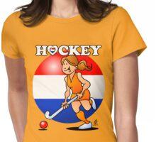 Dutch women's hockey team Womens Fitted T-Shirt
