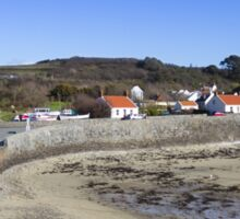 Guernsey coastline Sticker