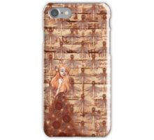 No fashion without style - clocks & fairies iPhone Case/Skin