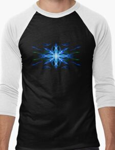 Energetic Geometry- Water Element Men's Baseball ¾ T-Shirt