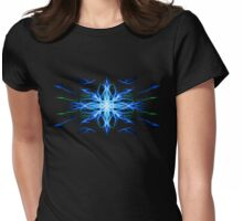 Energetic Geometry- Water Element Womens Fitted T-Shirt