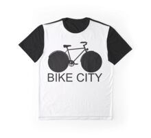 Bike City - Concept Icon Graphic T-Shirt