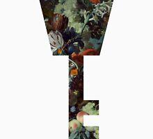 Kingdom Hearts -Key Symbol - Floral Unisex T-Shirt