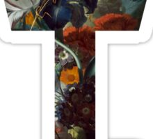 Kingdom Hearts -Key Symbol - Floral Sticker