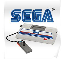 SEGA SG-1000 classic gaming console Poster