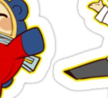 Persona 4 Teddie Sticker