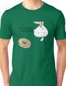 Kitten wants donut Unisex T-Shirt