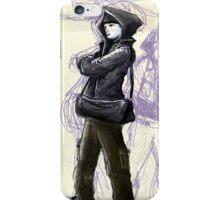 Male Graffiti Artist iPhone Case/Skin