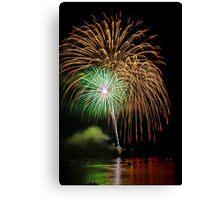 Fireworks 0004 Canvas Print