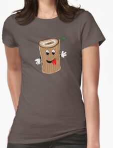 Woody Woodrow Willow III Womens Fitted T-Shirt