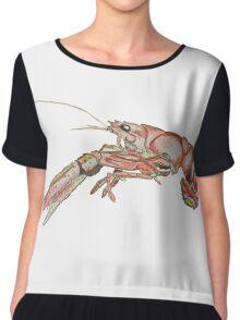 Crawfish Low Res Chiffon Top