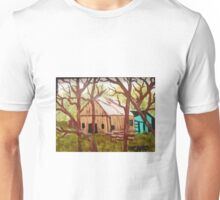 Old Barn Deep in the Woods Unisex T-Shirt