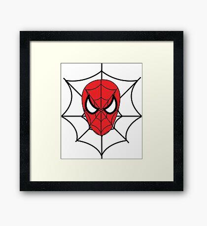 Spider-Man, Homecoming Web Framed Print