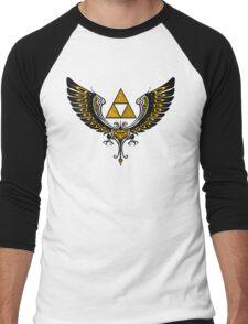 Tri Winged Men's Baseball ¾ T-Shirt