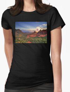 Screaming Sun Sedona. Womens Fitted T-Shirt