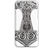 Thors Hammer - Mjolnir Viking Norse Mythology iPhone Case/Skin