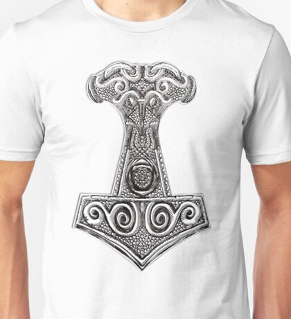 Thors Hammer - Mjolnir Viking Norse Mythology Unisex T-Shirt