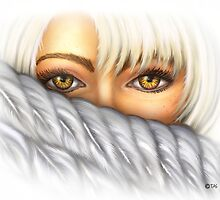 Eyes of Gold by TASIllustration
