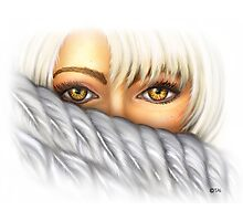 Eyes of Gold Photographic Print